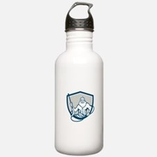 Neptune Power Washer Shield Retro Water Bottle