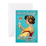Polveri Galeffi Sparkling Water Greeting Cards