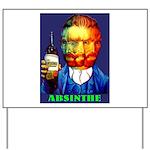 Absinthe Liquor Drink Yard Sign