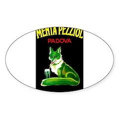 Menta Pezziol Padova Aperitif Liquor Bumper Stickers