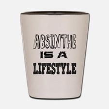 Absinthe Is A LifeStyle Shot Glass