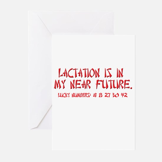 Lactation Fortune Greeting Cards (Pk of 10)