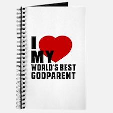 I love My World's Best Godparent Journal