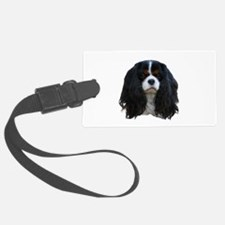 Cute Black and white dog photos Luggage Tag
