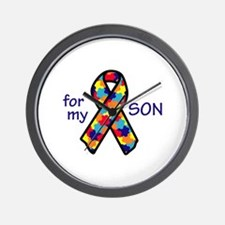 For My Son Wall Clock