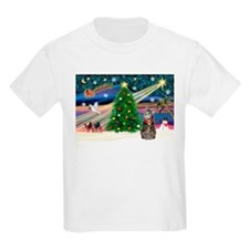Xmas Magic & Tiger Cat T-Shirt