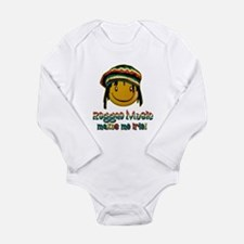 Reggae music makes me Irie! Body Suit