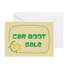 Car Boot Sale Greeting Card