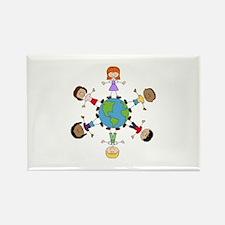 Children Around The World Magnets