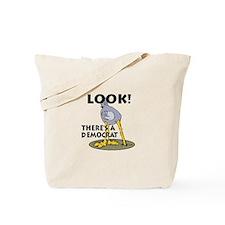 Blind Democrat Tote Bag