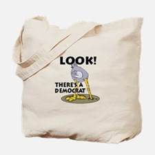 Blind Democrat Tote Bag
