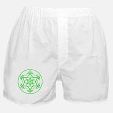 circle star stamp 9x9 grn.png Boxer Shorts