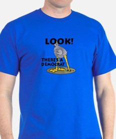 Blind Democrat T-Shirt