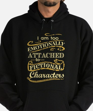 I am too emotionally attached to fic Hoodie (dark)