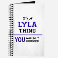 It's LYLA thing, you wouldn't understand Journal