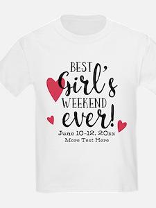 Best Girl's Weekend Ever PD T-Shirt