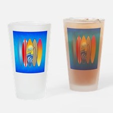 Surfboards Drinking Glass