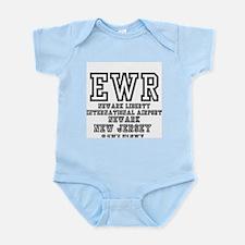 AIRPORT CODES - EWR - NEWARK LIBERTY, NE Body Suit