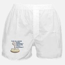American Dad Bagel Doughnut Boxer Shorts