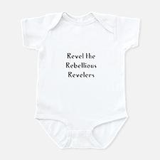 Revel the Rebellious Revelers Infant Bodysuit