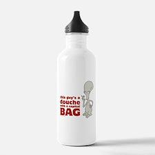 american dad douche Water Bottle