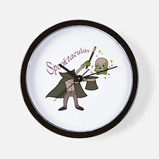Spooktacular Magic Wall Clock