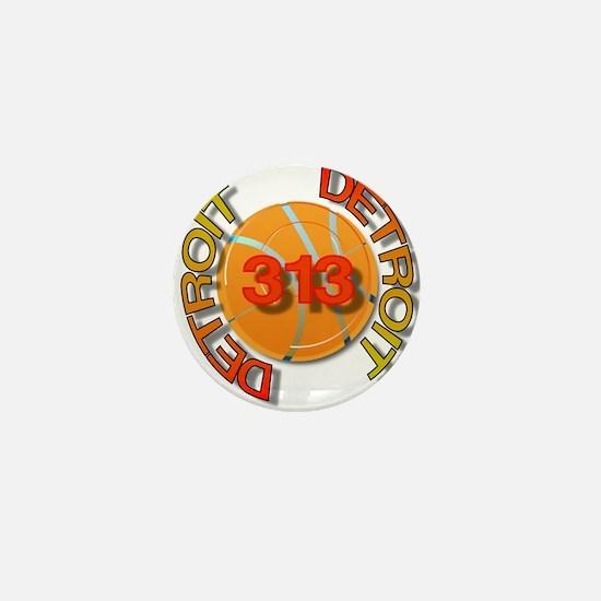 Funny 313 Mini Button