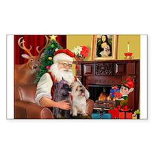 Santa'sCairn Rectangle Decal