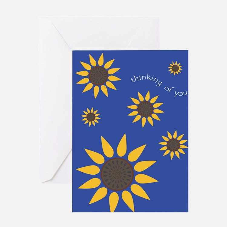 Sunflower-Thinking Of You Greeting Card