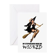 WICKED STEPCHILDREN Greeting Card