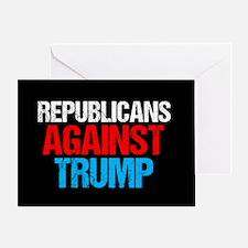 Republicans Against Trump Greeting Card