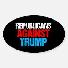 Republicans Against Trump Decal