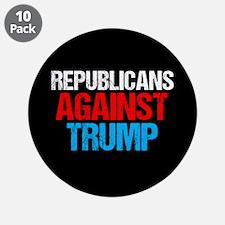 """Republicans Against Trump 3.5"""" Button (10 pack)"""