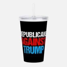 Republicans Against Tr Acrylic Double-wall Tumbler