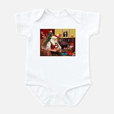 Santa's Chih (b&t) Infant Bodysuit