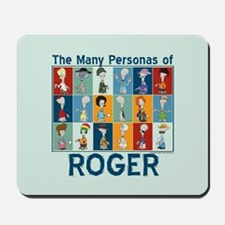 American Dad Roger Personas Mousepad