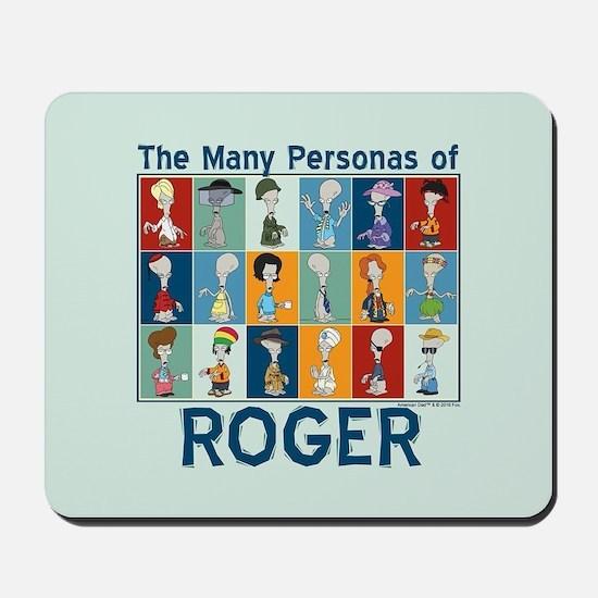 American Dad Roger Personas Mousepad