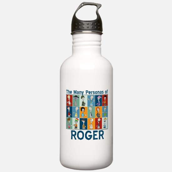 American Dad Roger Per Sports Water Bottle
