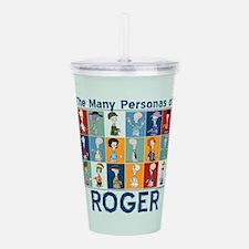 American Dad Roger Per Acrylic Double-wall Tumbler