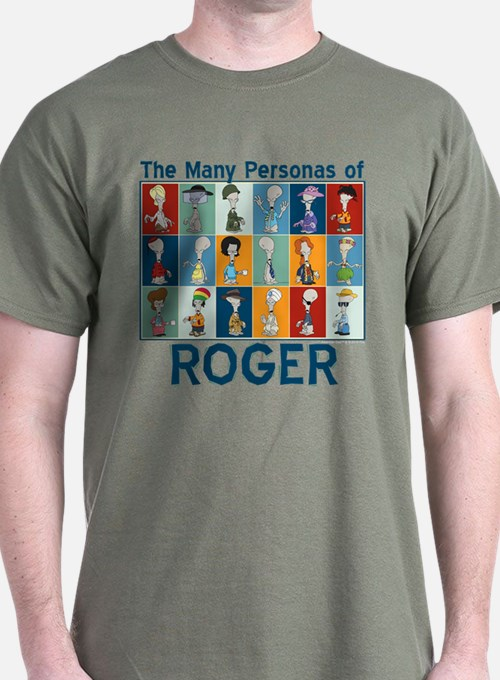American Dad Roger Personas T-Shirt