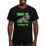 Dirt bikes Fitted T-shirts (Dark)