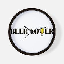 Unique Beer lover Wall Clock