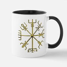 Gold Vegvisir 1 Mug