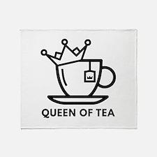 Queen Of Tea Stadium Blanket