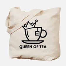 Queen Of Tea Tote Bag