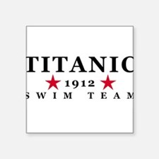 Titanic Swim Team Sticker