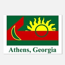 Athens GA Flag Postcards (Package of 8)