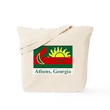 Athens GA Flag Tote Bag