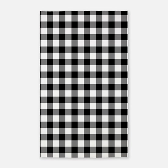 Cute Black and white Area Rug