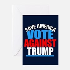 Vote Against Trump Greeting Cards (Pk of 10)